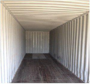 contenedores - Alquiler de 40 pies, foto interna