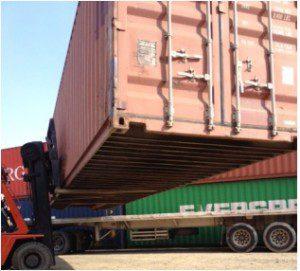 contenedores - Almacenamiento de 40 pies de Movicarga Servimaq Ltda